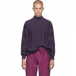 Issey Miyake Men Purple Fit Knit Turtleneck 192728M20500302GB