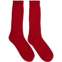 Juun.J Five-Pack Multicolor Rib Socks 192343M22000101GB