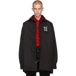 Raf Simons Black Denim Big Fit Shirt 192287M19201201GB