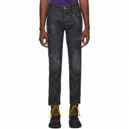Dsquared2 Black Distressed Skater Jeans S71LB0658