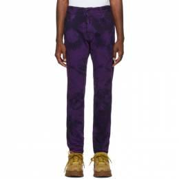 Dsquared2 Purple Tie-Dye Cool Guy Jeans S71LB0656