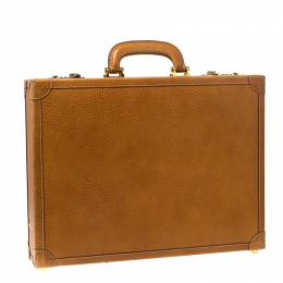 Loewe Tan Leather Briefcase 218420
