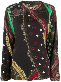 Etro блузка с принтом пейсли 180415257