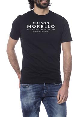 t-shirt Frankie Morello FMOF7226TS_BLACK