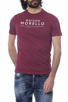t-shirt Frankie Morello FMOF7226TS_BORDEAUX