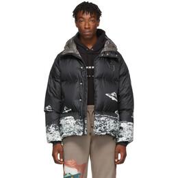 Undercover Black Valentino Edition Down UFO Jacket 192414M17800502GB