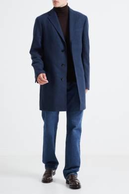 Пальто синего цвета Pal Zileri Lab 3013148658