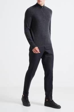 Серый свитер с молнией Pal Zileri Lab 3013148887