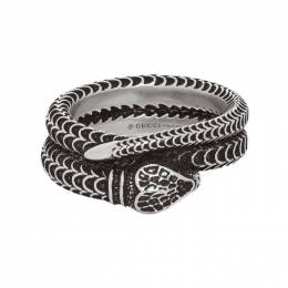 Gucci Silver Snake Ring 192451M14700405GB