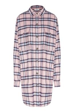 Розовое платье в клетку Isabel Marant Etoile 958148636