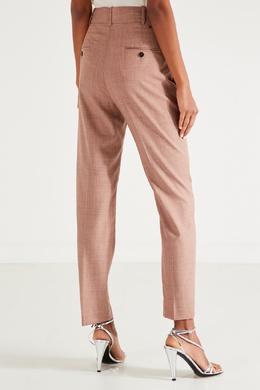 Коричневые брюки из шерсти Isabel Marant Etoile 958148633