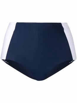 Tory Burch плавки-бикини с завышенной талией 10154776
