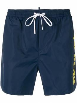 Dsquared2 плавательные шорты с логотипом D7B6G2420ISA01