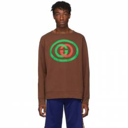 Gucci Brown GG Sweatshirt 192451M20400305GB