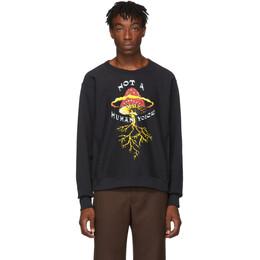 Gucci Black Mushroom Sweatshirt 192451M20400604GB