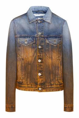 Двухцветная джинсовая куртка Off-White 2202148894