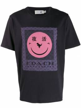 Coach футболка COACH x Yeti Out 75883BLACKBLACK