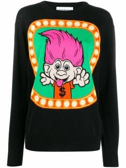 Moschino трикотажный свитер Trolls A09216000