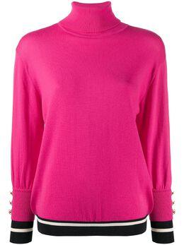 Elisabetta Franchi свитер с высоким воротником MK80B97E2