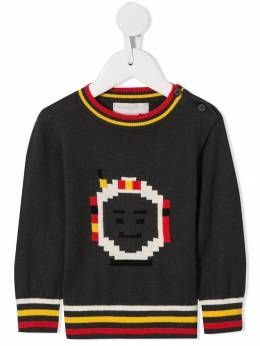Stella McCartney Kids джемпер вязки интарсия 566711SNM35