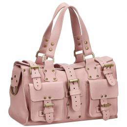 Mulberry Pink Leather Roxanne Satchel 219793