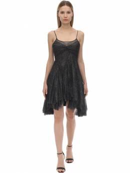 Короткое Платье Из Тюля Philosophy Di Lorenzo Serafini 70I3KN013-MTU1NQ2