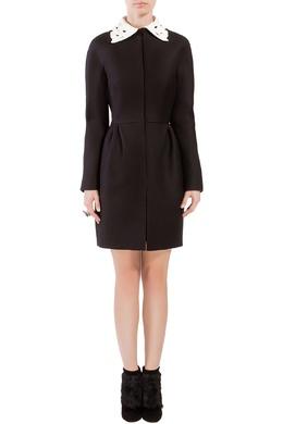 Платье-пальто с кружевным воротником Valentino 210150076