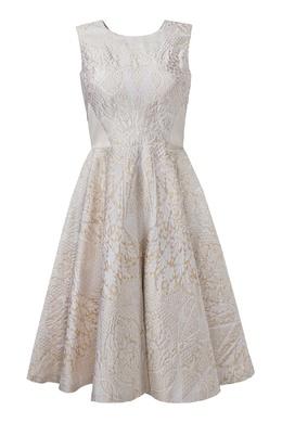 Платье миди с жаккардовым узором Temperley London 199150089
