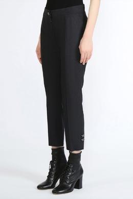 Укороченные брюки с кристаллами Dolce&Gabbana 599150097