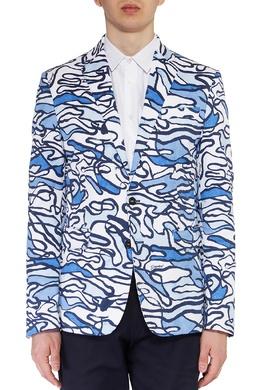 Пиджак с графичным принтом Dsquared2 1706150152