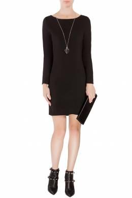 Короткое платье с кружевной спинкой Saint Laurent 1531150074