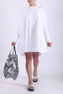 Расклешенное белое платье Antonio Berardi 4150173