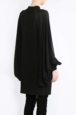 Платье с пышными рукавами Saint Laurent 1531150044