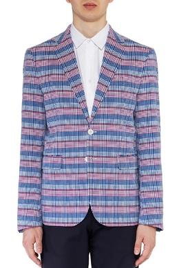 Сине-розовый пиджак с принтом Dsquared2 1706150153