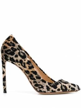 Francesco Russo туфли-лодочки с леопардовым принтом R1P586N289
