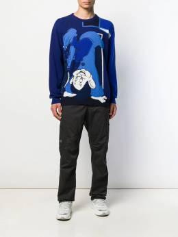 Iceberg свитер с круглым вырезом и принтом A0107077