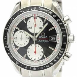 Omega Black Stainless Steel Speedmaster Date 3210.51 Men's Wristwatch 39MM 220930