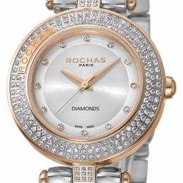 Rochas MOP Gold-Plated Stainless Steel RP2L026M0071 Women's Wristwatch 34MM 221338