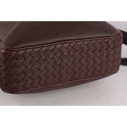 Bottega Veneta Brown Grained Leather Shoulder Bag 221678