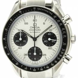 Omega White Stainless Steel Speedmaster Limited Edition 3539.31 Men's Wristwatch 39MM 220917