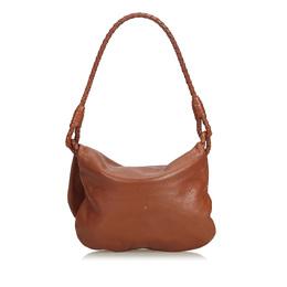 Bottega Veneta Brown Leather Shoulder Bag 214068