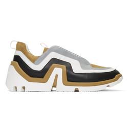 Pierre Hardy Brown Suede Wave Sneakers 192377M23700708GB