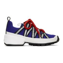 Pierre Hardy Blue Trail Mesh Sneakers 192377M23700606GB
