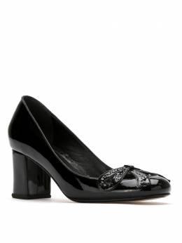 Sarah Chofakian patent leather pumps AUDREYGR55FORR