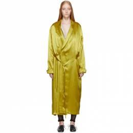 Ann Demeulemeester Gold Nanette Dress 1902-2252-P-126-018