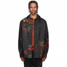 Y-3 Black Flower Jacket 192138M18000901GB