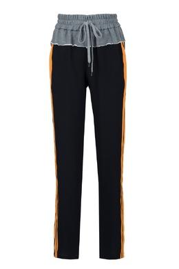 Комбинированные брюки-джоггеры No. 21 35143836