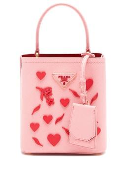 Розовая сумка Panier с отделкой Prada 40150398