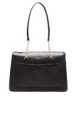 Черная сумка с карманом DKNY 1117149137