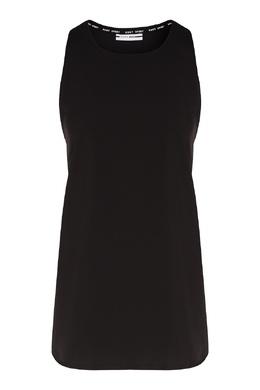 Черный топ на бретелях DKNY 1117149116